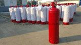 40L弁及び弁の監視が付いている赤いアセチレンシリンダータンク