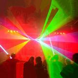 farbenreiches Stadiums-Laserlicht der Animation-5W für Disco-Erscheinen