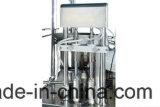 Automatische pharmazeutische flüssige Medizin-Flaschen-abfüllende füllende mit einer Kappe bedeckende Maschine