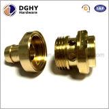 Peças de bronze personalizadas do torno do metal da precisão fazer à máquina do torno do CNC