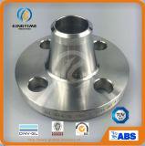 La bride de Wn d'acier inoxydable de F316/316L a modifié la bride à ASME B16.5 (KT0095)