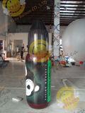 Le ballon gonflable annonçant des bouteilles de PVC pour l'exposition décorent