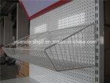 Crémaillère de supermarché/étagères d'aménagement/épicerie de gondole à vendre