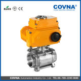 Steel di acciaio inossidabile Motorized Valve con Actuator