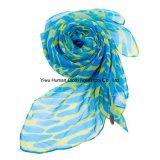 Dame Fashion Printed Scarf mit Bright Color für Lady