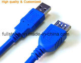 Female에 금 Plated New Style USB 2.0 Extension Cable AM/Af Male