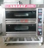蒸気の産業パン屋(ZBA-204M)が付いている中国Salvaメタドーのガスピザデッキのオーブン