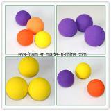 حار بيع 45mm و50MM 30mm وإيفا رغوة الكرة إيفا رغوة غسل الكرة الطفل الكرة الرياضة