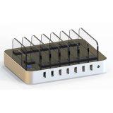 Multi-Function estação portuária da doca do carregador do USB 76W 7 com função rápida do carregador