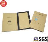 Rectángulo de regalo de la tarjeta de papel del procurador de la pantalla, rectángulo de papel de Kraft, rectángulo de empaquetado de papel de gama alta para el vidrio Tempered