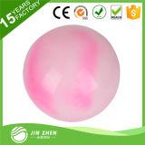 La bola plástica del juguete de la bola animosa del juguete del PVC de Inflable con insignia imprimió la bola impresa PVC