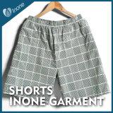 Inone 088 Mens nada Shorts ocasionais da placa das calças curtas