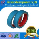 青いジャンボロールの保護テープの感圧性のペーパーMt 610中間の温度
