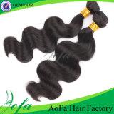 I capelli umani della cuticola piena tessono per le estensioni dei capelli di Unprocess Remy