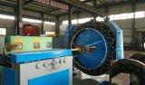 Singola macchina dell'intrecciatura del tubo flessibile del metallo del filo di acciaio del ponte
