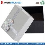 Rectángulo de regalo caliente del papel de rectángulo de joyería de la venta 2017 con la cinta