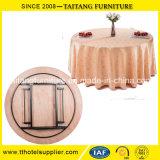 ホテルおよびレストランの現代円形の折りたたみ式テーブル
