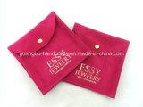 Sacos de Drawstring baratos coloridos do saco da jóia