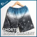 Inone 091 Mens nada Shorts ocasionais da placa das calças curtas