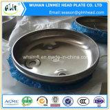 Los casquillos inoxidables del acero/de aluminio del tubo sirvieron los casquillos de extremo elipsoidales