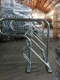 Assoalho - carrinho múltiplo montado do armazenamento de cremalheira da bicicleta