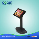 Visualización negra de alta resolución del cliente del sistema de la posición del USB del LCD 2X20