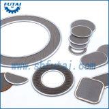 Material do filtro do aço inoxidável