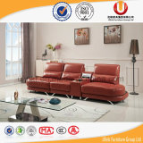 Sofa neuf de cuir de meubles de salle de séjour du modèle 2016 (UL-Z011)