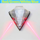 8LED USB Rechargeable Bike Rear Light do laser Bicycle Tail Light