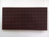 P10 반 옥외 단 하나 빨강 LED 모듈