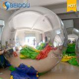 مصنع بالجملة الديكور مرآة بالون الحلي البسيطة ديسكو نفخ مرآة الكرة
