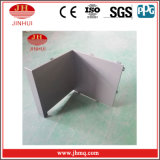 El aluminio perfiló el sistema de la pared de cortina de los paneles de la placa (Jh166)