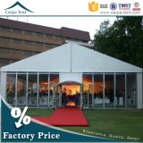 MerchandisingのためのIntegrated Cassette Floorの優れたOutdoor Clear Glass Wall VIP Marquee Big Event Tent