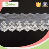 Fancy New Inan Jacquard Bordado Borda Designs Organza Lace Trim