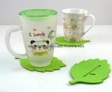 Couvre-tapis Leaf-Shaped de feutre d'isolation thermique de caboteur de cuvette de thé de mode