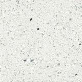 Graue/Schwarz-/weißeküche-Schrank-Quarzcountertop-Wanne