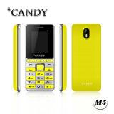 Portable do projeto da barra telefone do presente do telefone móvel de 1.77 polegadas