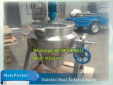 Portable Gas Burner를 가진 300L Movable Jacketed Kettle