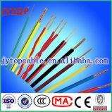 Fio de construção isolado PVC elétrico flexível do fio de H07V-K