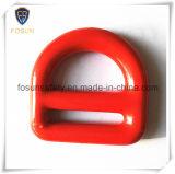 Anillos en D del metal de los accesorios del harness de seguridad (H215D)
