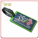 Profissional Fabricante Custom Made Embossed Soft PVC Luggage Tag
