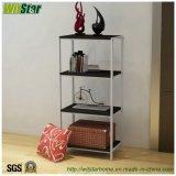 4つの層普及した金属および木官庁原簿の棚(ホーム家具のためのWS16-0023、)