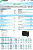 SBB 6V12ah 3-FM-12 Alarm System Sealed Lead Acid Battery Mfs SLA 세륨 RoHS UL Approved