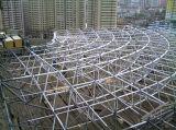 304 Systeem van het Dakwerk van de Bal van het roestvrij staal het RuimteFrame Vastgeboute