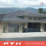 Роскошная модульная дом виллы стальной структуры для жить/квартира/восстановление