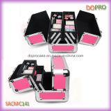 O estilo cor-de-rosa das senhoras da cor compo a caixa do organizador com as quatro bandejas (SACMC141)