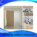 Barato madera moderna deslizante gran puerta de hardware (BDH-06)