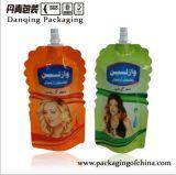 Sachet en plastique de Danqing Customaized pour le sac de lotion de corps