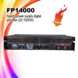 2 Versterker van de Macht Fp14000 van het kanaal M de Audio