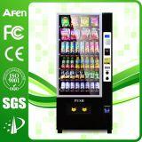 Bebida de la capacidad grande y máquina expendedora automática del bocado con medios del LCD